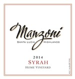 2014 Home Vineyard Syrah
