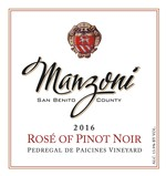 2016 Rose` of Pinot Noir