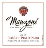 2019 Rose` of Pinot Noir