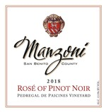 2018 Rose` of Pinot Noir
